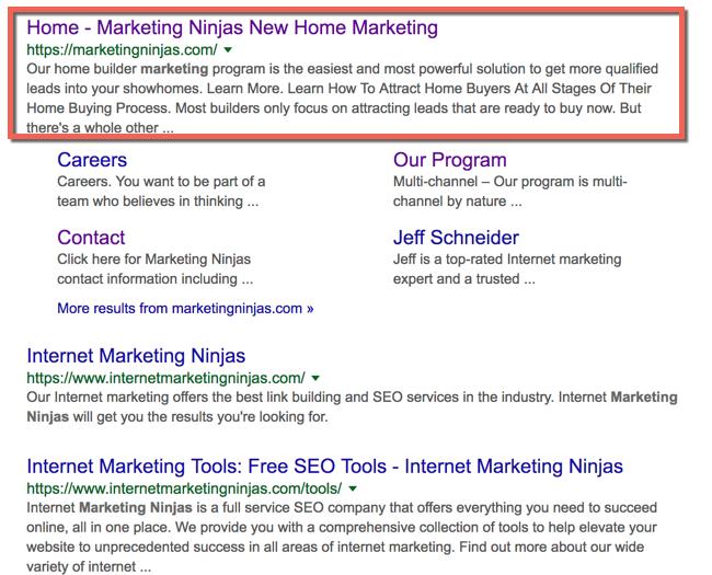 major google algorithm updates meta description increase image